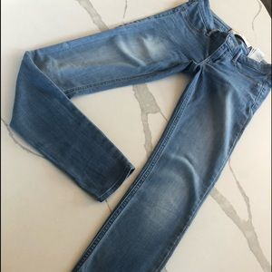 Hollister straight leg denim jeans